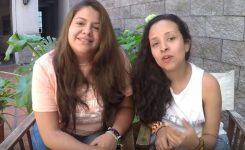 Lili y Andrea son Colombianas estuvieron 2 meses en Posada Gotan